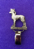 Dog Show Breed Ring Number Clip - Chinese Crested - FULL BODY Silver or Gold Style